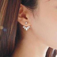 Wholesale S925 silver ear triangle hanging high grade noble Zircon Earrings hypoallergenic Earrings