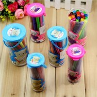 Wholesale SET PACK OF ASSORTED COLORFUL WASHABLE COLOR COLOURS PEN MARKER INK COLORS COUNT PAINTING CONTAINER STATIONERY