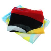 Wholesale New Summer Fashion Designer Chiffon Colorful Scarf And Shawl For Women Red Blue