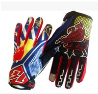 Wholesale Earthquak KTM Off Road Motocroos Glove MX BMX Bicycle Cycling Gloves All Share Index Motorcycle Racing Gloves finger anti Slip