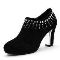 Cheap 2016 cheap women dress shoes rhinestone shoes almond shaped toe shoes stiletto heels shoes high heels shoes for women bride dress shoes