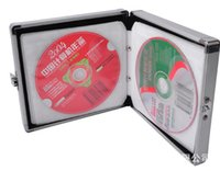 Wholesale Essence elbow CD box is dedicated to the aluminum disc storage box JH