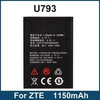Cheap 1150mAh Li3711T42P3h644440 Replacement Battery For ZTE U793 N793 Mobile Phone Battery