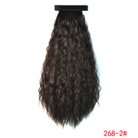Wholesale Export color corn supply hot wig ponytail ponytail pat circle corn can on behalf of the natural color