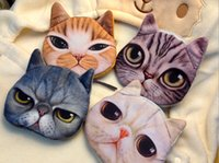 Wholesale Women s Fashion Clutch Purses Coin Purse Bag Wallet Cute Cat Change Purse JIA275