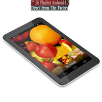 Wholesale ovtech Android G tablet pc MTK calling phablet Bluetooth dual core dual camera dual sim smart phone