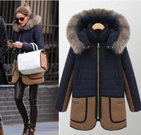 Wholesale 2016 women winter jackets women long winter jacket woman thicken women down long coat Cotton padded clothes NSY115
