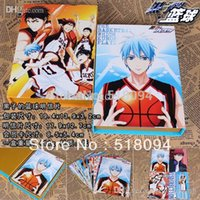 basketball birthday card - set Anime Cartoon Kuroko s Basketball Postcards Greeting Cards Kids Friends Birthday Christmas Gift ANPO039