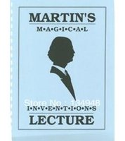 Wholesale Martin Lewis Martin s Magical Inventions Lecture notes Close up magic PDF Card magic