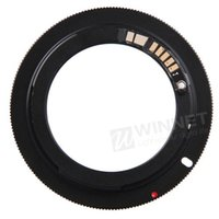 Wholesale AF Confirm Mount Adapter Ring for Takumar M42 Lens to for Canon for EOS EF EFS