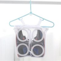 bamboo sneakers - NEW Sneaker Tennis Sports Shoe Dry Organizer Laundry Net Wash Portable Washing Hanging Bag Shoes Cleaner