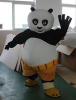 animations happy halloween - Adult Size Cartoon Kung Fu Panda Mascot Costume Happy KungFu Panda Animation Halloween Christmas Birthday New Year Party Dress Mascot