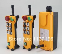 Wholesale 12VAC DC Motion Speed transmitters Hoist Crane Truck Radio Remote Control System With Emergency Stop Pushbutton
