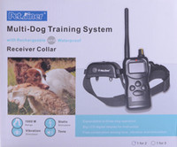 big dog bark - 1000M BIG LCD Remote Control Dog Training Shock Collar vibration long range For dog Waterproof