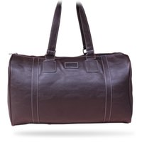 leather weekend bags - Large Capacity Leather Weekend Overnight Travel Luggage Gym Gear Sport Duffle Bag