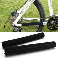 Wholesale 2pc Bicycle chain cover Pad Protector Guard MTB bicycle Chain Care Stay Posted Protector Guard Bike Accessories