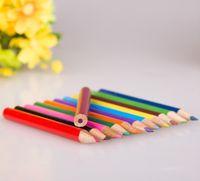 Wholesale 12 color Set inch Wooden Color Pencil Painting Pencil Bulk Color Lead Environmental Protection B Pencil