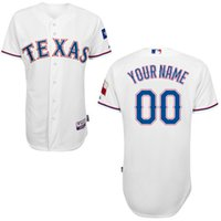 Cheap Free Shipping Cheap Customized Elite Jersey Texas Rangers Jerseys #00 any name or number Mens American football jersey Mix Order
