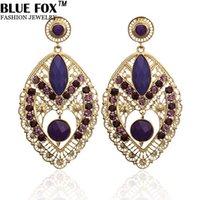 big leaf earrings - European And American Fashion Jewelry Elegant Leaf shaped Drop Big Earrings For Women Can Be Mixed Batch pf