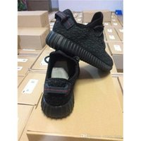 yeezy 350 - 2016 Top Quality Kanye Milan West Yeezy Boost Classic Black Men s Fashion Trainers Shoes With Box Sports Shoes