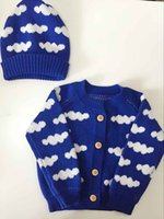 baby knit sweater pattern - Children Clothes Autumn Winter Fashion Kids Cloud Pattern Cotton Knitted Sweaters For Boys Girls Baby Knitted Cardigan Coat for Y