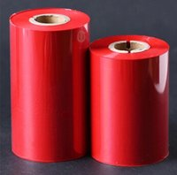 bar code ribbon - Red Ribbon professional red color ribbons print bar code printing Tandai
