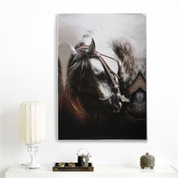 Wholesale Fashion hand painted Modern Frameless Pictures Painting Art Oil Painting On Canvas Home Wall Decoration horse x cm