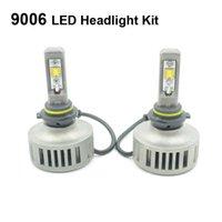 Wholesale White Fog Headlight Kit Blinding Lighting Car Styling W DC8 V LM LED Driving Lamp HB4 K K K Brightness