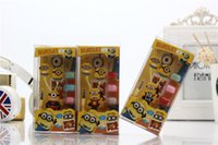 cute mp3 earphone - Cute Cartoon D Silicone Despicable Me In ear Earphones Headphone Minions Wired Headsets for iPhone Samsung Cell Phone MP3 with Retail Box