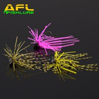 beard group - Afishlure AP08 g tungsten head hook soft rubber group jig Rubber JIG beard guy soft rubber bait