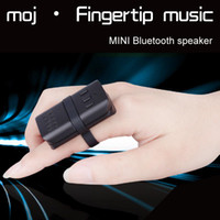 Wholesale MOJ finger to wear mini mini clip car visor Bluetooth sound box portable bicycle outdoor bathroom