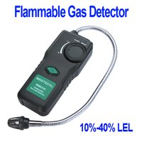 Wholesale Portable Multifunctional Flammable Gas Detector Combustible Gas Leak Tester Sound Light Alarm MS6310