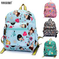 Wholesale ViViSecret Lovely Cartoon Animal Backpack Cute Kids Children School Bag Top Quality Girls Shoulder Bags on Sale