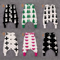 Cheap 20PCS HHA621 INS Baby Romper Cartoon Babies Sleeping bag Clothing Flannel Thickening Baby One-Piece Pajamas Clothes