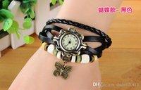 Wholesale DHL Fashion Women Girls Ladies Graceful Lovely Metal Bracelet Watch Leather Quartz Wristwatches DIY