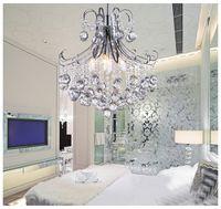 art deco chrome - TOP Quality Mini Modern Crystal Chandelier Light Chrome Crystal Chandelier Light Lighting Guaranteed