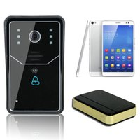 Wholesale Wireless WiFi Remote Video IR Camera Door Phone Rainproof Doorbell Home Security