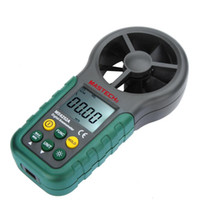 Wholesale Digital Anemometer Handheld LCD Electronic Wind Speed Air Volume Measuring Meter Backlight freeshipping