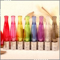 Cheap Updated GS-H2S Daul Coil H2s Atomizer Tank Bottom Coil head coils Clearomizer Tank Update From GS H2 8 Colors Option DHL Free