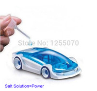 assembly solutions - DIY Assembly Saline Dynamic Creative Brine Toy Car Salt Solution Car with Green Energy Science Experiments Recommend order lt no track