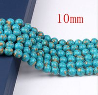 Wholesale 4pcs mm Natural Turquoise Loose Beads Jewelry Accessories Diy Beads Semi Finished Turquoise Optimization