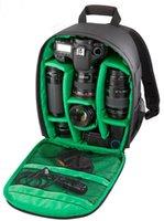 Wholesale Big Promotion new fashion camera backpack dslr slr camera bag for men women photography digital camera video backpack for travel
