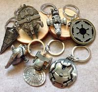 Key baby toy keys - Children Star Wars Key buckle new Star Wars Airship key ring baby Keychain many styles