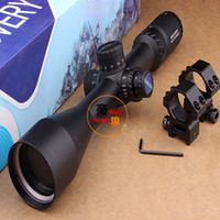 rangefinder - Discovery HD x50SF Rifle Scope with Rangefinder Reticle Comes Side Focus Adjustment Red green Illumination