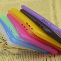 Wholesale 0 mm Thin Slim Matte Frosted Clear Soft PP Cover Case Skin for iPhone Plus inch S C S Galaxy S5 S4 Note M8 pc