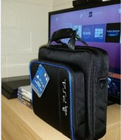 ps4 - New arrival NEW Workmanship Travel Case Shoulder Bag for PS4 Console Carrying Bag
