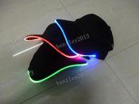 Wholesale Design LED Light Hat Party Hats Boys and Grils Cap Baseball Caps Fashion Luminous Different Colors Adjustment