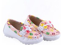 Wholesale New Flat PU Casual Shoes For Girls G115