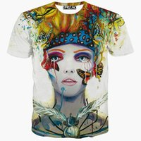 beautiful flash animation - Mikeal Beauty print t shirt for men women d t shirt short sleeve print beautiful butterfly Animation tshirts summer tops