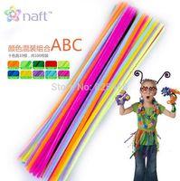 bars creativity - 100 pieces Twisting Rod cm Kindergarten Handwork material Soft DIY Toys wire twisted bar a variety Children toy